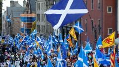 Хиляди шотландци поискаха независимост