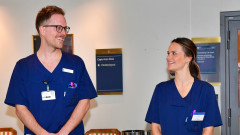 Шведска принцеса доброволка в болница
