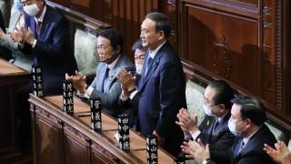 Китай към Суга: Япония да се въздържа от отношения с Тайван