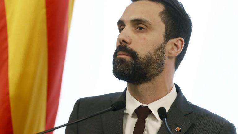 Арестуваниятот испанските власти каталунски активист Жорди Санчес оттегли кандидатурата за