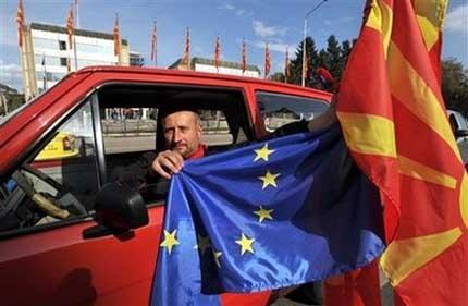 ЕС даде старт на преговорите с Македония