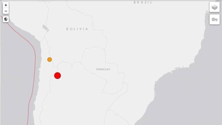 Земетресение от 6.3 по Рихтер разтърси границата между Чили и