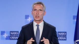 Русия е заплаха за НАТО, предупреди Столтенберг