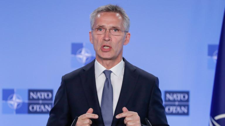 Генералният секретар на НАТО Йенс Столтенберг заяви, че Русия е