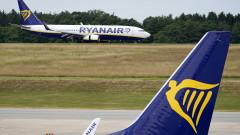 Над 99% от самолетите на Ryanair останали на земята заради пандемията