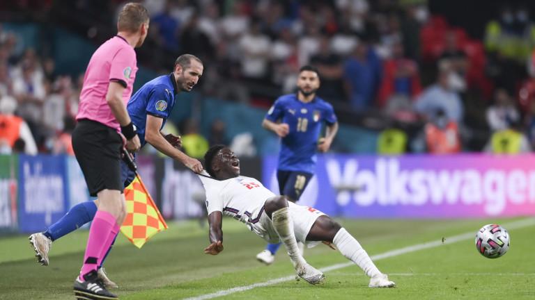 В Англия пуснаха петиция за преиграването на финала с Италия