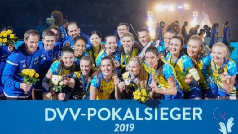Българска волейболистка стана вицешампионка на Германия