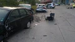 Шофьор с над 3 промила помете три коли в Търново