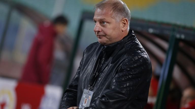 Петко Петков: Искам най-после да вземем точки