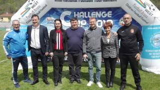 Съветникът на министър Кралев Гошо Гинчев откри международния детски футболен турнирChallenge Cup