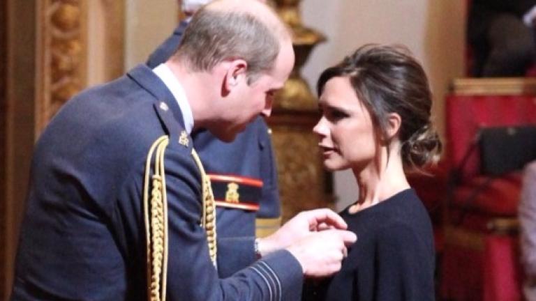 И Виктория Бекъм получи орден