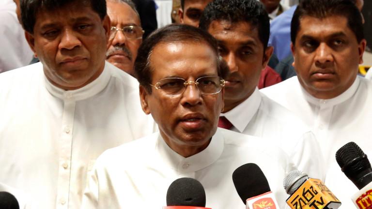 Президентът на Шри Ланка въвежда извънредно положение