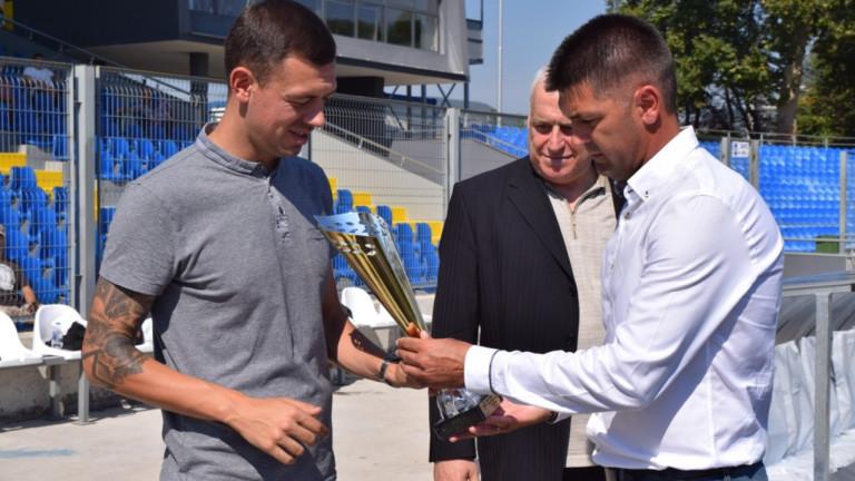 Президентът на Арда (Кърджали) Петър Пешев коментира достигането на тима