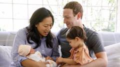 Марк Зукърбърг представи на света втората си дъщеря
