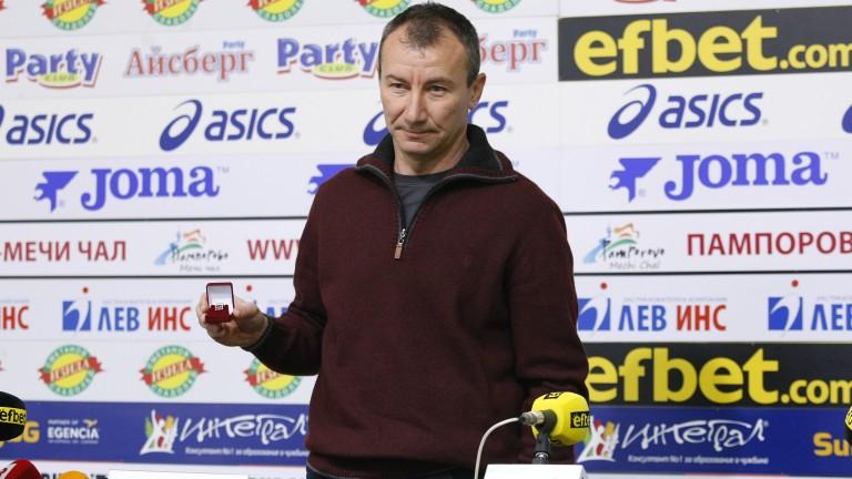 Треньор №1 за декември: Селекцията в ЦСКА не е приключила