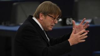 Ги Верхофстат призова за отмяна на правилото за единодушие в ЕС