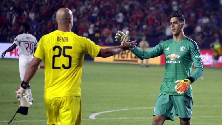 Хосе Мануел Рейна направи повече от впечатляващ дебют с екипа