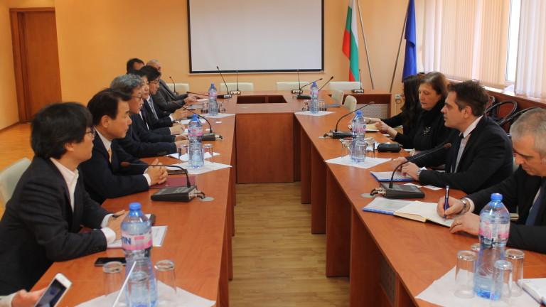 България ще използва корейския опит за разработване на система за