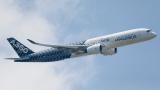 Чистата печалба на Airbus за тримесечието скача с 86%