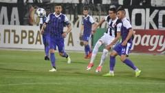 Етър - Локомотив (Пловдив), 1:1 (Развой на срещата по минути)