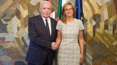 Палестина иска да сме мост в отношенията й с Израел