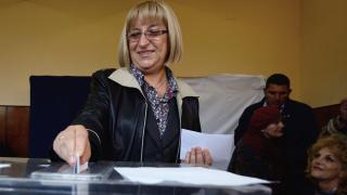 Цачева гласувала за стабилна и сигурна България