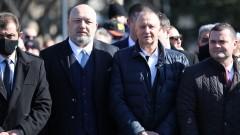 Красен Кралев присъства на церемония за 143 години от Освобождението в Русе