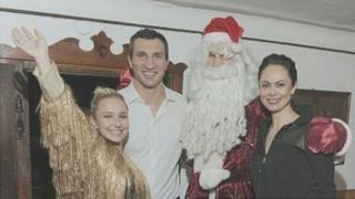Братя Кличко посрещнаха Нова година в Австрия