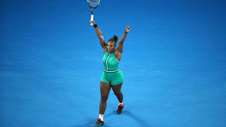 Серина Уилямс отмъсти за сестра си и изхвърли Симона Халеп от Australian Open