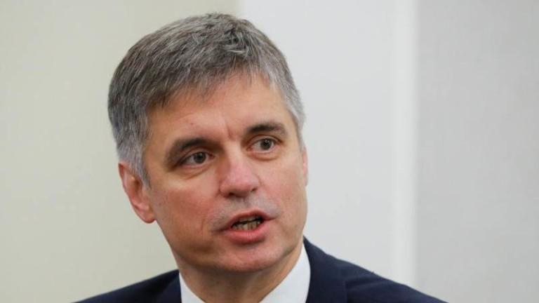Украинският външен министър Вадим Пристайко заяви, че не вярва на