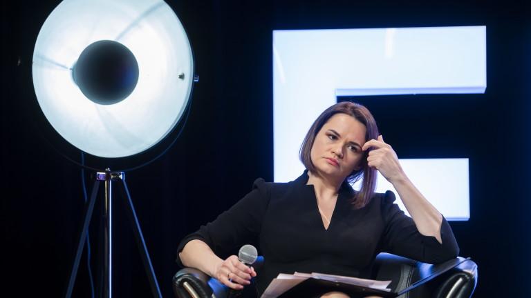 Тихановская се готви за среща с Байдън