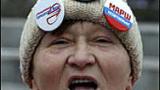 Арестуваха Лимонов на митинг в Москва