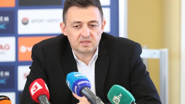 Левски се разделя с Красимир Иванов