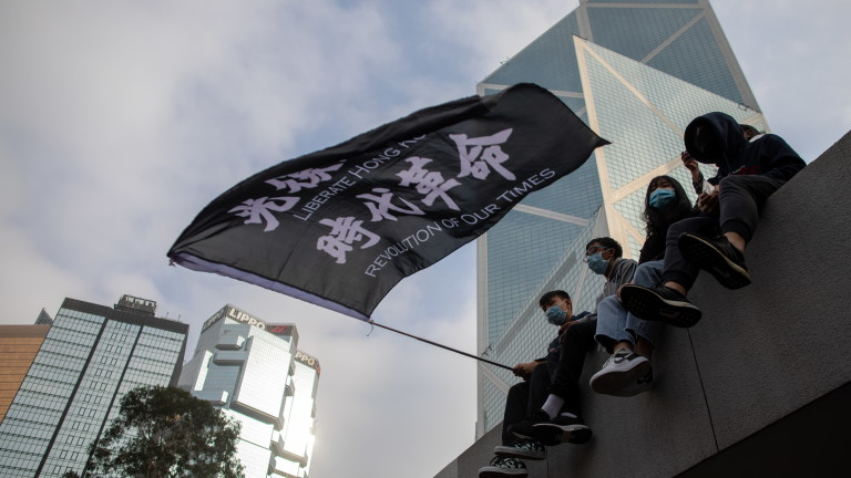Икономиката на Хонконг преживя най-тежкото си тримесечие в историята