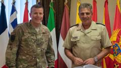 Българските ВВС и НАТО засилват съюзната си подкрепа за охрана на въздушно пространство