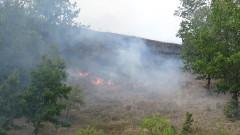 Запалиха имот на кандидат за кмет от село Ясна поляна