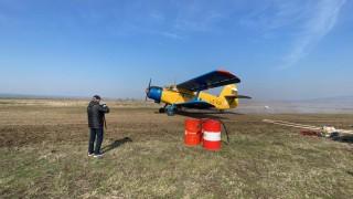 Дезинфекцират Карнобат със самолет срещу коронавируса