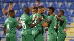 Лудогорец взе своето в Подгорица, вкара три гола на Будучност и продължава напред в Лигата на шампионите