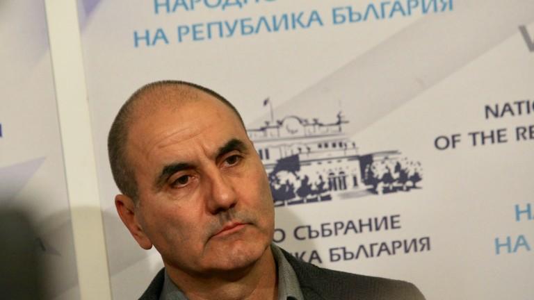 Заместник-председателят на ГЕРБ Цветан Цветанов е изумен от пленума на