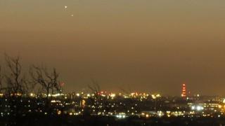 Рядко явление – Венера и Юпитер заедно на зазоряване