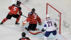 Франция поведе на Канада на Световното по хокей на лед