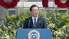 Мун Дже-ин призова Ким Чен-ун да не се връща към ерата на противопоставяне