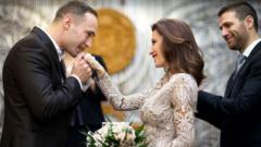 Дарин Ангелов се ожени за бившата на Тачо