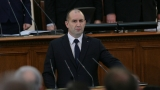 Българите искат личности в парламента, критичен Радев още в първата си реч