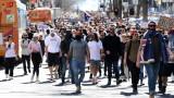 Десетки арестувани при мащабни протести в Австралия срещу локдауна