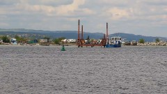 Възстановиха тръбата на Варненското езеро, замърсяването е преустановено