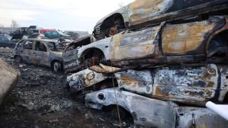 Пожар остави бургаски квартал без ток