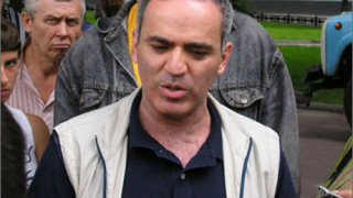 Скандал с Каспаров на мача за световната титла
