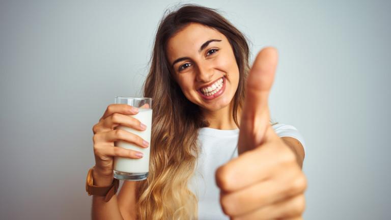 Още един голям плюс на прясното мляко за здравето