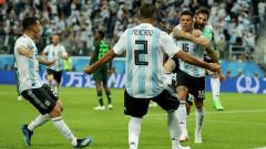 Аржентина мина през ада, за да стигне до осминафиналите на Мондиал 2018